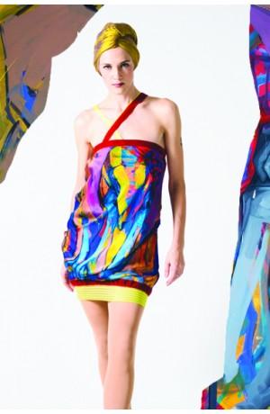 LIZA INCOMPLETE Dress